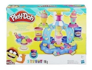 Play Doh Helados Fantásticos Original Con Accesorios Hasbro