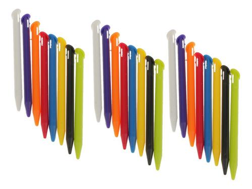 Conjunto De 24 Lápices Táctil Multicolor Para Videojuegos