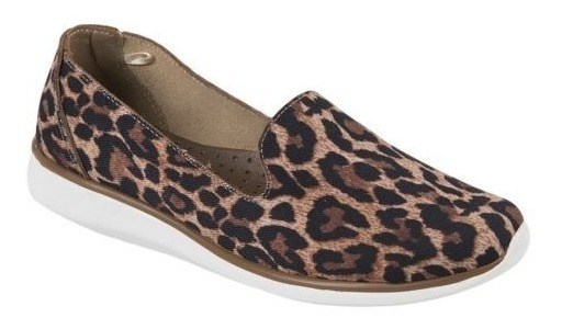 Zapato Textil Antiderrapante Confort Shosh 4552 Cof 825103