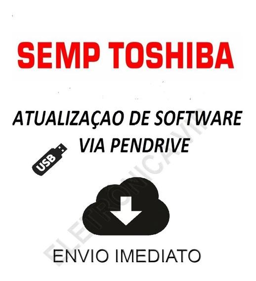 Atualização Software Tv Sti Semp Toshiba Le4058(c)f - Hm06