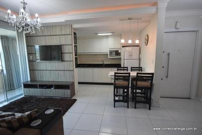 Apartamento Com 2 Suítes Mobiliado Em Meia Praia-itapema-sc