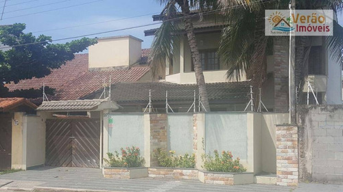 Imagem 1 de 30 de Sobrado Com 4 Dormitórios À Venda, 250 M² Por R$ 690.000,00 - Cibratel - Itanhaém/sp - So0085