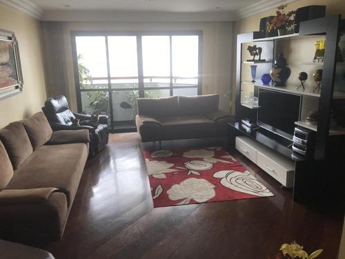 Apartamento Com 4 Dormitórios À Venda, 164 M² Por R$ 1.150.000 - Vila Regente Feijó - São Paulo/sp - Ap6823