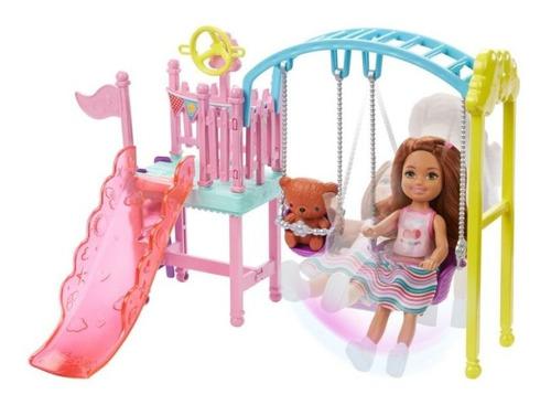 Imagen 1 de 4 de Barbie De Chelsea Mattel Fdb32 Surt