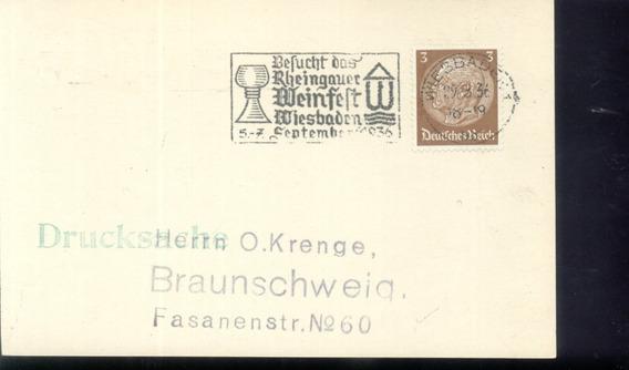 Alemania - Reich - Entero Historia Postal (#5011)