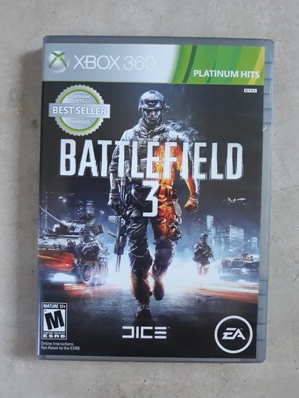 Jogo Battlefield 3 Xbox 360 Original Com Duas Mídias