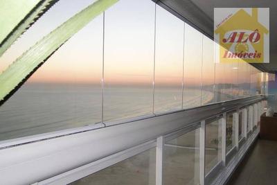 Apartamento Residencial À Venda, Vila Guilhermina, Praia Grande. - Ap0463
