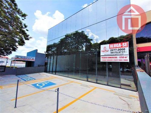 Prédio Para Alugar, 1250 M² Por R$ 27.990,00/mês - Jardim América - Bragança Paulista/sp - Pr0026