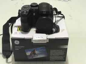 Camera Semi Profissional Ge X500 Zoom Ótico 15x