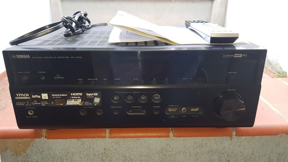Receiver Av Yamaha Rx-v675 - Audio E Video - Home Theater