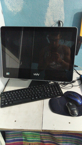 Computador Win Solo Com Mouse E Teclado E Fonte