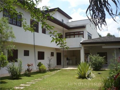 Imagem 1 de 30 de Vendo Linda Casa Na Malota Em Jundiaí, Alto Padrão, 620 M² De Área Construída E1.200 M² De Terreno. - Ca00205 - 3427340