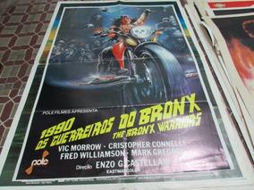 Cartaz De Cinema Do Filme 1990 Os Guerreiros Do Bronx!!!!!!!