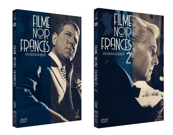 Coleção Filme Noir Francês Vol 1 E 2 - 6 Discos 12 Filmes