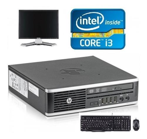 Equipo Pc Hp Core I3 3.1ghz, 4gb, 160gb, Dvd-rw + Monitor 17