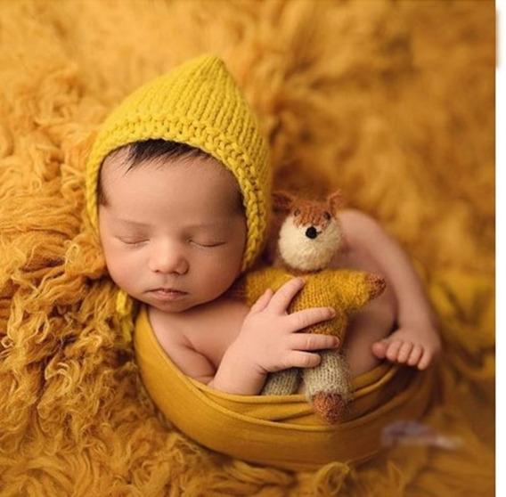 Touca Gorro Dule Newborn Baldinho Wrap