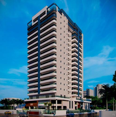 Apartamento 3 Dormitorios Sendo 2 Suites Vista Para O Mar