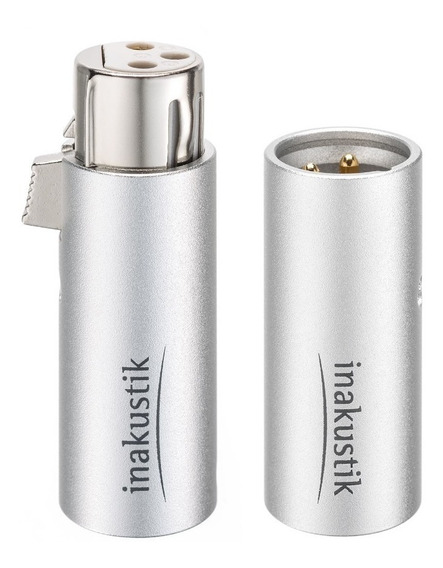 Plug Xlr High-end Inakustik Excellence Made In Germany / Par
