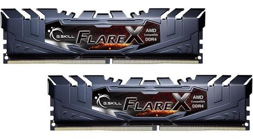 Memória Ram G.skill Flare X 32gb (2x16gb) Ddr4-3200mhz Cl14