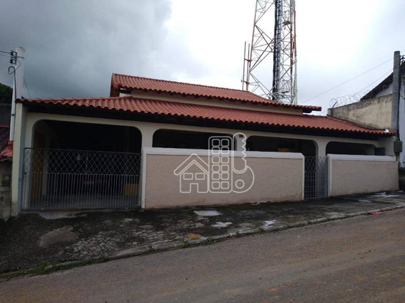 Casa Com 5 Dormitórios À Venda, 360 M² Por R$ 750.000 - Venda Das Pedras - Itaboraí/rj - Ca1185