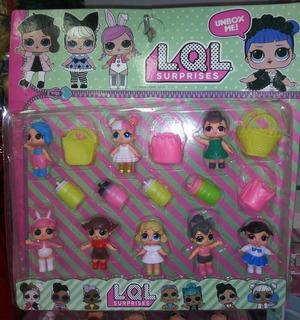 Set Muñecas Lol Surprise + 8 Accesorios Juguete Niña Navidad