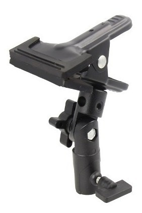 Garra Magic Clamp Adaptador P/ Tripé De Iluminação - Mc-1049