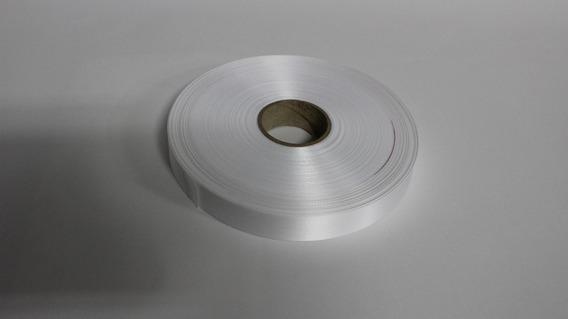 Cetim De Poliester Branco 15mm X 200metros