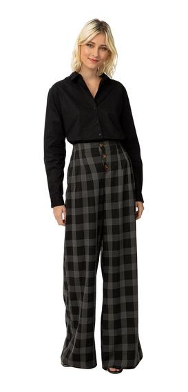 Camisa Lisa Americana Manga Longa Regular Colcci 34048