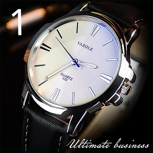 Relógio Masculino Luxo E Esportivo Resistente Bonito Barato