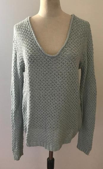 Gap. Hermoso Sweater Celeste. Importado. Mujer. Talle S