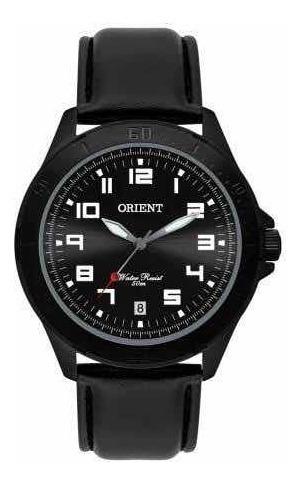 Relógio Masculino Orient Mpsc1008 Pulseira Couro Preto