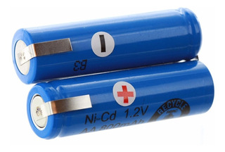 Bateria Para Afeitadora Remington Philips 2,4v Aa 900mah