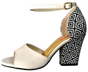 289170ccba Sandalia Blume Salto Grosso - Sapatos no Mercado Livre Brasil