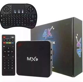 Tv Box Smart 4k Pro 2 Gb/16gb Netflix Com Teclado + Frete