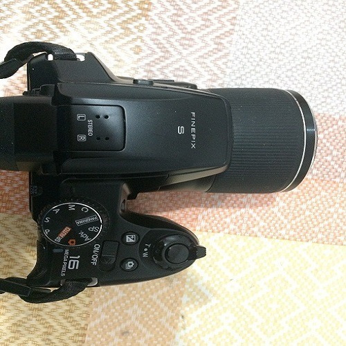Câmera Fotográfica Semiprofissional Fujifilm Finepix