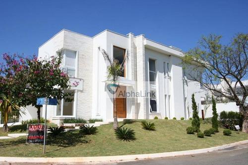 Casa À Venda, 497 M² Por R$ 5.800.000,00 - Alphaville Conde Ii - Barueri/sp - Ca0955