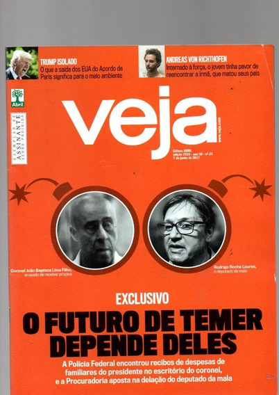 Revista Veja O Futuro De Temer Depende Deles Nº 23