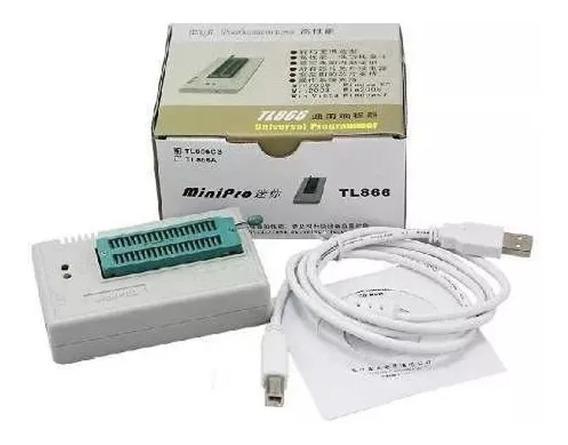 Gravador Programador Eprom Bios Tl866cs Tl866ii 13 Adaptador