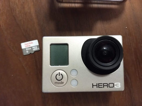 Câmera Go Pro Hero 3 + Cartão 32g Usada Em Excelente Estado