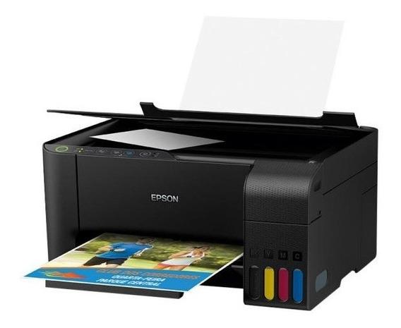 Impressora Multifuncional Color Epson L3150 Wifi
