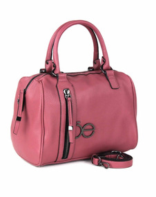 Bolsa Cloe Bowling Rosa Dama Mujer Original Moda