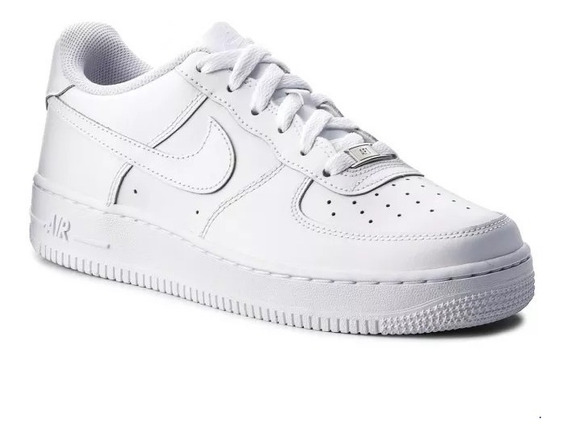 Tenis Air Forc Low Branco Esportivo Casual