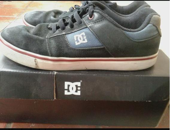 Zapatillas Dc Talle 39 (26 Cm) Usadas