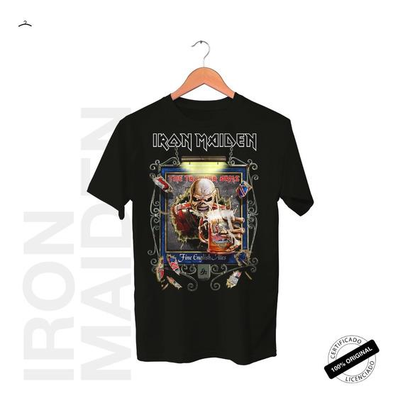 Camiseta Oficial Iron Maiden Trooper Arms Tour 2019