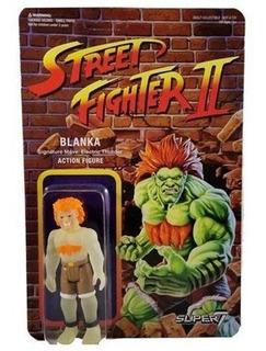 Figuras Street Fighter 2 Blanka Retro Super7