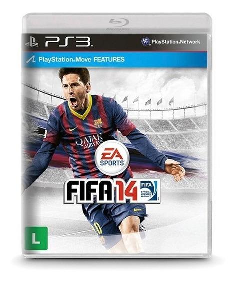 Fifa 14 - Novo Original Playstation 3 Ps3 Mídia Física