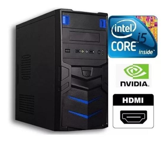 Cpu Gamer Intel Core I5 3.3ghz + 8gb + Hd 500gb Gtx1050 4gb