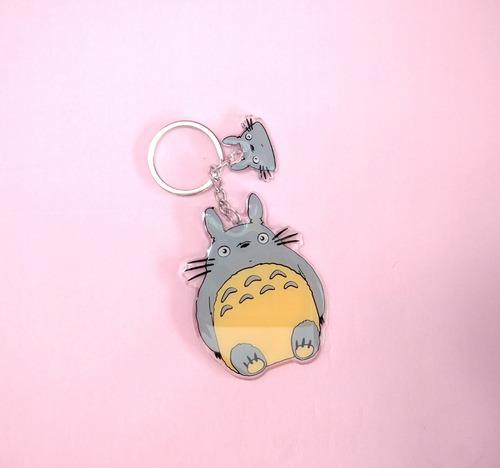 Llavero De Anime - Mi Vecino Totoro Studio Ghibli Miyasaki