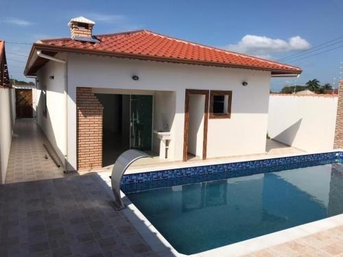 Casa C/ Piscina E Suíte   Itanhaém Litoral Sul Sp - 6157 Npc