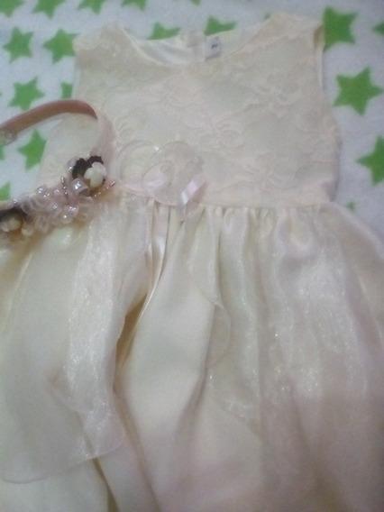 Vestido De Niña De Bautismo Bautizo